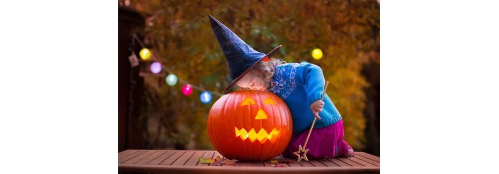 Une fête d'Halloween colorée