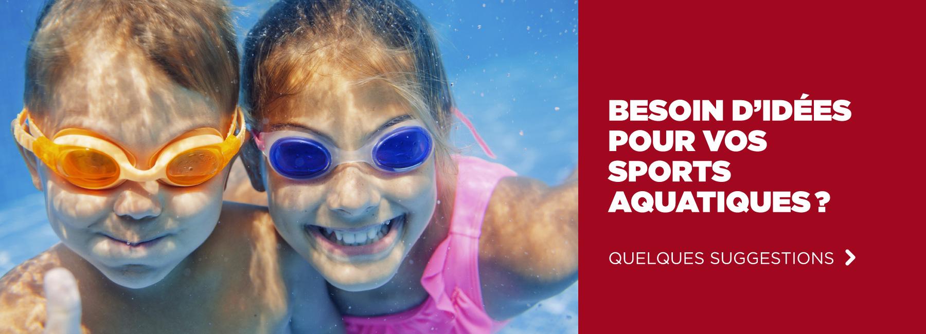 Sports aquatiques